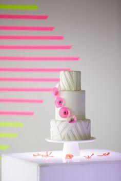 Modern Neon Wedding