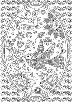 Pin by Rachel Burgener on Coloring Collections | Раскраски ...