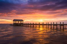 Outer Banks North Carolina Nags Head Sunset Nc Scenic Landscape Photograph