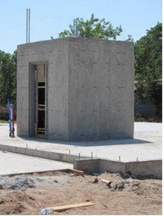 Panic Rooms, Safe Room, Secret Rooms, Create Space, Concrete, Garage Doors, Room Ideas, Outdoor Decor, Home Decor