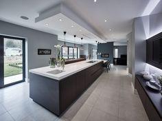 Luxury Kitchen Design, Best Kitchen Designs, Luxury Kitchens, Interior Design Kitchen, Contemporary Kitchen Designs, Contemporary Interior, Farmhouse Style Kitchen, Modern Farmhouse Kitchens, Home Decor Kitchen