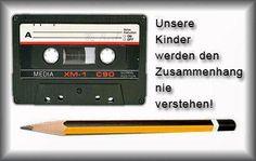 :D die gute alte kassette..
