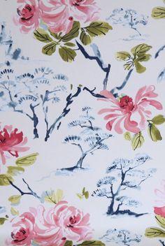 Watercolor in Pinks