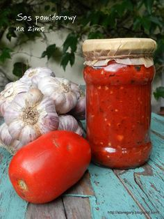 Stare Gary: Sos pomidorowy na zimę