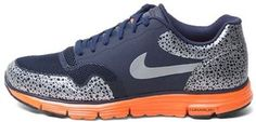 Nike Lunar Safari + - Navy/Orange $110.00