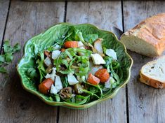 Spring Green 5:2 Diet Recipe: Moroccan Roasted Vegetable Salad with Feta Cheese (200 calories)