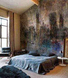 Ταπετσαρία στο δωμάτιο. 25 υπέροχες ιδέες!