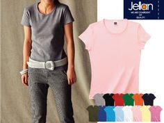 5.9oz リブクルーネックTシャツ:Jellan(ジェラン) 00160-WCNが安い通販業者です。
