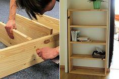 fabriquer une étagère sur mesure est à la portée de tous.