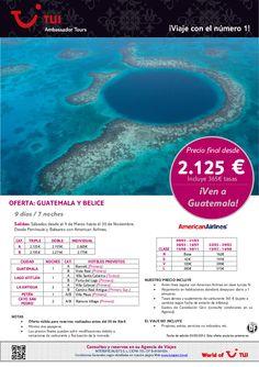 Oferta GUATEMALA y Belice. Precio final desde 2.125€ - http://zocotours.com/oferta-guatemala-y-belice-precio-final-desde-2-125e-6/