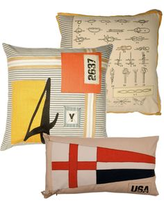 Lacefield Designs nautical pillows