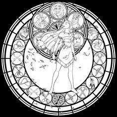 SG: Pocahontas -lineart- by Akili-Amethyst.deviantart.com on @DeviantArt