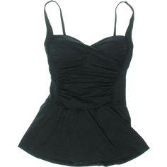 La Blanca Womens Solid Adjustable One-Piece Swimsuit