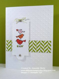 Bird Love by mandypandy - Cards and Paper Crafts at Splitcoaststampers