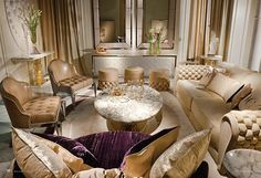 Visionnaire Collection by Ipe-Cavalli-Living Rooms