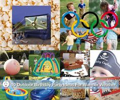 10 Outdoor Birthday Party Ideas For Warmer Weather - www.lilsugar.com