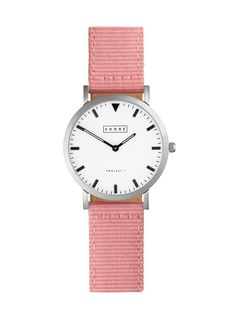 Poole Watch With Pink Classic Strap