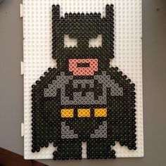 Batman hama beads by bittean