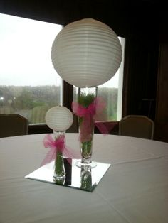 Ladies golf centerpieces - nailed it!