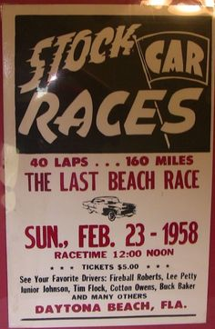Stock Cars of Florida Little Racer History