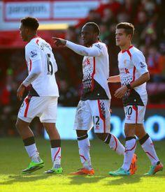 Coutinho, Sturridge, Moses: Liverpool FC.