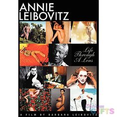 """""""Take a peek into the illustrious career of one of today's most prolific photographers. Annie Leibovitz: Life Through a Lens, traces the arc of her photographic life, her aspirations to artistry and t"""