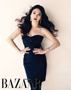 Song Hye-kyo on Harpers Bazaar magazine