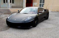 Ferrari F430 — Murdered-Out: 50 Menacing Matte Black Cars | Complex