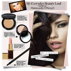"""My Everyday Makeup"" by stylejournals on Polyvore"