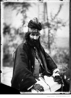 Persian dervish, Photographer: Antoin Sevruguin, around 1901.