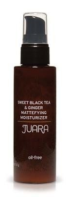 Juara Mattefying Moisturizer-Sweet Tea & Ginger-2 oz by Juara. $37.00. A beautiful, shine-free complexion is yours with Juara Sweet Black Tea & Ginger Mattefying Moisturizer. It keeps the skin free of unsightly oil without drying out or irritating the skin. It also infuses the skin with anti-aging antioxidants as it hydrates. Juara Mattifying Moisturizer -- Sweet Black Tea and Ginger -- 2 oz.Juara Mattifying Moisturizer in Sweet Black Tea and Ginger combines age-defying ben...