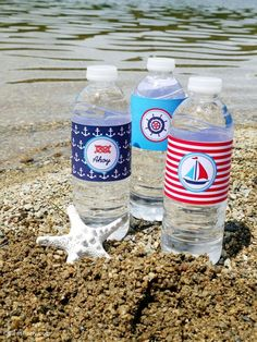 Preppy Nautical Birthday Party with DIY ideas on decorations, printables, food and favors - Great red, white and blue 4th of July or memorial day. #4thofjuly #redwhiteblue #nautical #nauticaldecor #nauticaltablescape Party Icon, Party Kit, Party Ideas, Diy Ideas, Bee Party, Food Ideas, Sailing Party, Yacht Party, Memorial Day Celebrations