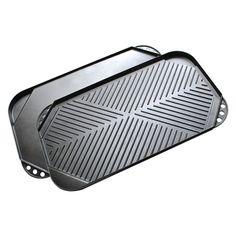 Ecolution ECAG3220 Kitchen Extras Double Burner Reversible Griddle