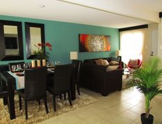 Like the layout of the living and dinning combo!
