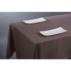 Nappe anti-taches - 140 x 240 cm - Taupe ATMOSPHERA - Nappe