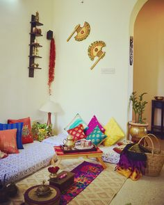 Floor seating...indian ethnic style