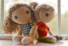 Hey, I found this really awesome Etsy listing at https://www.etsy.com/listing/263032487/caleb-and-sofia-crocheted-amigurumi