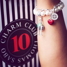 From thomassabo - Celebrate 10 years of Charm Club & be happy! Get your free diamond bracelet as a gift. Curious? Visit thomassabo.com or follow the link#fridayfeeling #free #gift #CharmClub10 #celebrating #partytime #diamonds