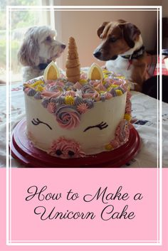 pin for unicorn cake