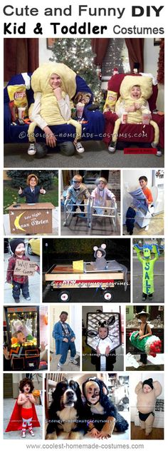 Coolest Homemade Child and Toddler Costume Ideas - Halloween Costume Contest