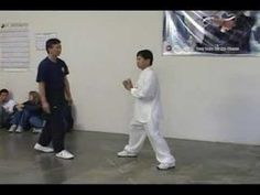 Yang Family tai chi push hands