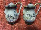 Rare Japan Dragonware Salt and Pepper shakers C1920