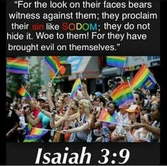 THE RAINBOW BELONGS TO THE MOST HIGH AS A HOLY SIGN OF COVENANT TO HIS CHOSEN BLACK ISRAELITES. THE BLASPHEMY OF THOSE WHO MOCK IT W/ THE VILEST PERVERSION WILL NOT GO UNPUNISHED ACCORDING TO YAH HIMSELF!!!