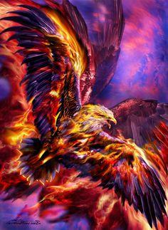 """Phoenix Rising"" par Ruth Thompson"