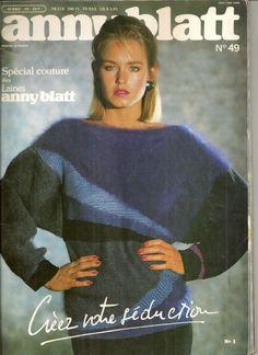MAGAZINE ANNY BLATT N°49 tricot SPECIAL COUTURE : Autres Tricot et Crochet par…