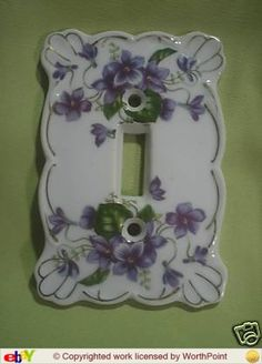vintage light switch cover