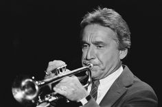 Bandleader Doc Severinsen performs on October 23 1984 Doc Severinsen, Johnny Carson, Stars Then And Now, October 23, Classic Tv, Horn, Musicians, Instruments, Photos