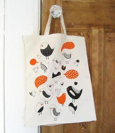 tweet tote bag ++ amy blackwell