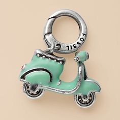 #Ridecolorfully and Get This Key Chain For My #Katespadeny #Vespa Key Chain