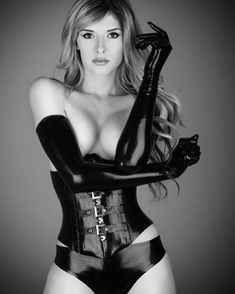 #erotica #erotic #corset #gloves #latex